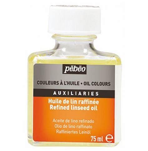 acrylic paint linseed pebeo refined linseed 75ml paint medium