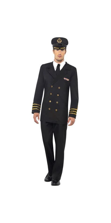 Navy Officer Dress by Navy Officer Costume 38818 Fancy Dress