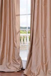 Shantung Silk Curtains Pink Curtains On Pinterest Pink Curtains Pink Silk And