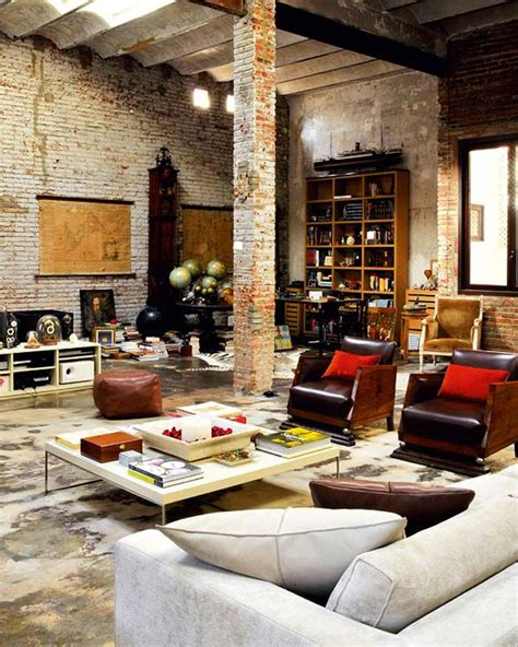 Loft Style Decorating Ideas by Rustic Modern Loft I The Industrial Feel Look Of A