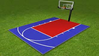 cost for basketball court