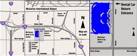 up film center map rental cars at mccarran international airport