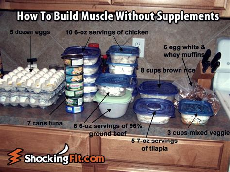 supplement you need build foods that help build tissue