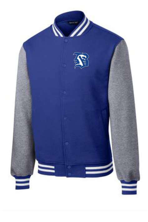 Award Letter On Letter Jacket bhs sport tek 174 fleece letterman jacket choice awards
