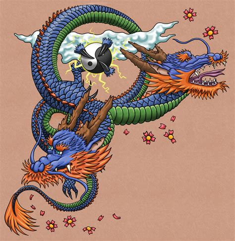 asian dragon tattoos designs japanese type tattoos