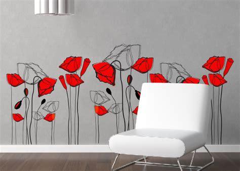 disegni sui muri interni di casa le pareti di casa prendono vita con gli stickers murali