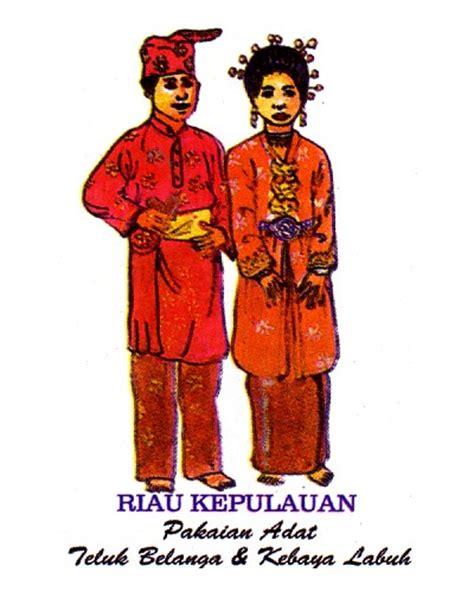 Nama Baju Daerah Riau pakaian adat tradisional kepulauan riau wonderful indonesia