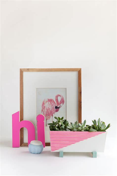 modern planters indoor diy modern indoor planter tell and
