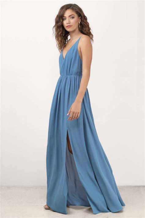 Dress Blues blue dress plunging dress blue dress