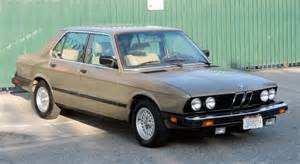 1986 Bmw 528e 1986 Bmw 528e German Cars For Sale