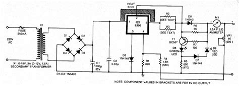6v battery charger circuit diagram various diagram 6v 12v constant current battery charger