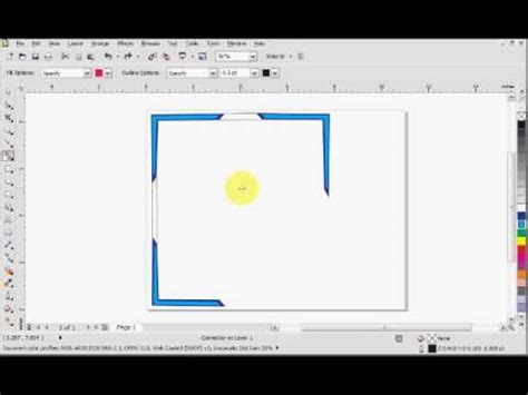 youtube tutorial coreldraw x5 corel draw x5 connecting lines tutorial youtube