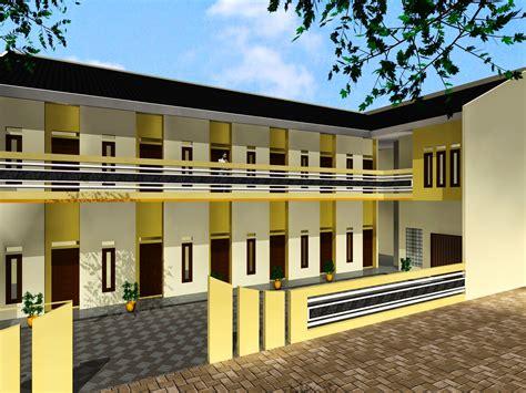 desain terbaik membangun kos kosan jasa gambar rumah