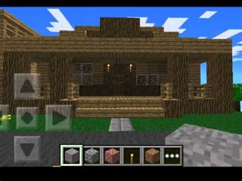 minecraft houses pe minecraft pe house ideas youtube