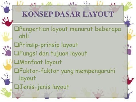 layout desain menurut ahli tata letak layout
