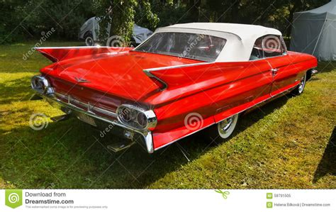 Is Cadillac An American Car by Cadillac Vintage American Car Editorial Image Image Of
