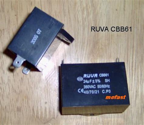 cbb61 sh generator capacitor cbb61 350vac 24uf capacitor