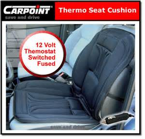 Heated Car Seat Covers Ebay 12 Volt In Car Heated Seat Cover Thermo Cushion With