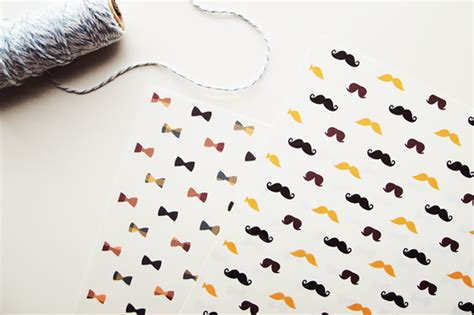 free printable wrapping paper father s day moustaches and bow printable wrapping papers design is yay