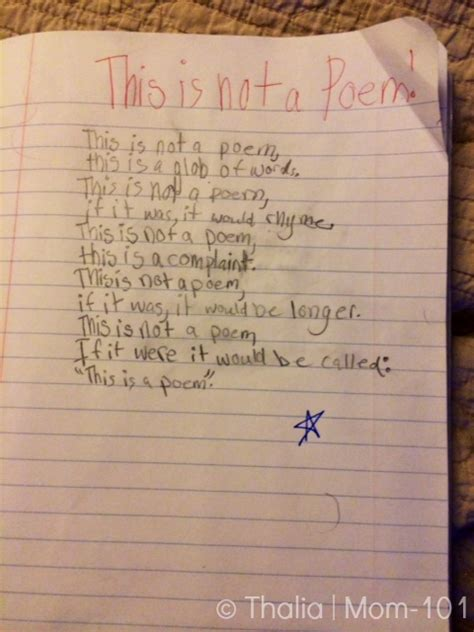 this is a poem this is not a poem mom 101 liz gumbinner