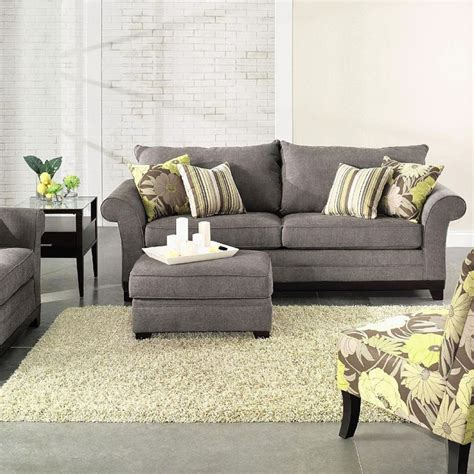 furniture living room sofas and loveseats living room sofas and chairs greay sofa wool carpet