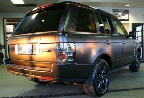 purchase   range rover hsematte blackvery clean