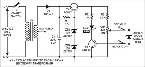 diode tester schematic electronic device tester paiboon