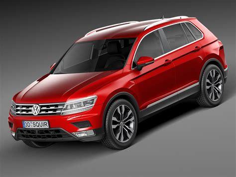 Volkswagen Modele volkswagen 2017 tiguan 3d model