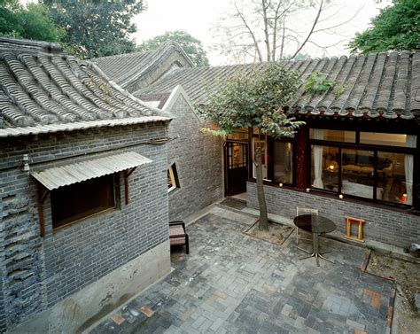 Courtyard Homes archiplein extends beijing hutong using historical references