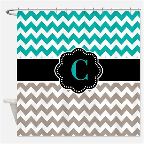 taupe chevron curtains teal and tan shower curtains teal and tan fabric shower