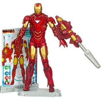 amazoncom disney iron man mark vi iron man action