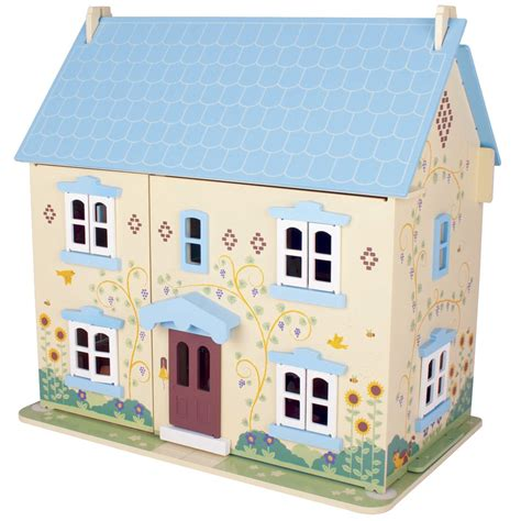 bigjigs dolls house sunflower cottage bigjigs jt129 wooden dolls houses