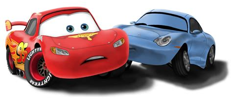 cars sally and lightning mcqueen surprise kiss by deannaphantom13 on deviantart