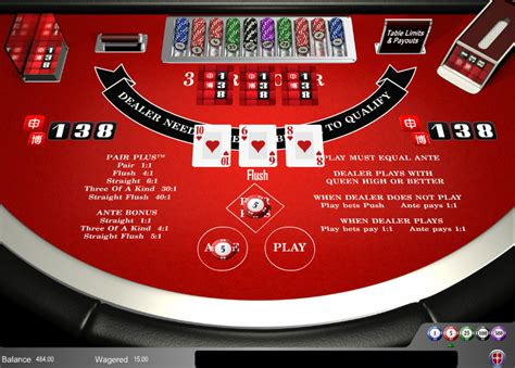 card poker review strategy  game play