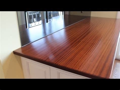 how to make a wooden countertop jon peters home