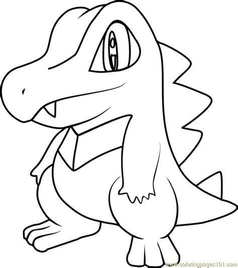 pokemon coloring pages totodile totodile images pokemon images