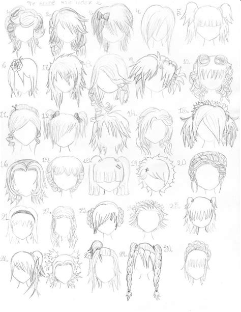 Anime Hair | anime blog anime hair