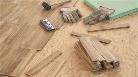 how to install hardwood flooring professional decoration