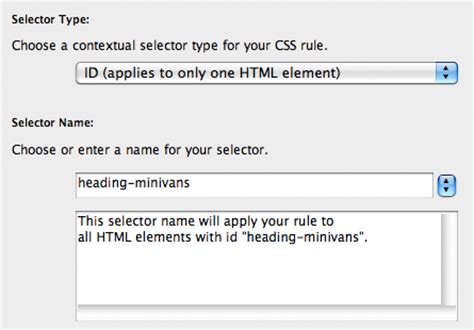 creating css rules dreamweaver tutorial use css to replace html text with an