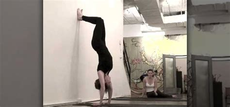 yoga handstand tutorial for beginners how to do a yoga handstand correctly 171 yoga wonderhowto