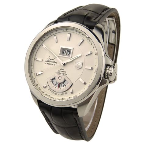 Tag Heuer Silver Wb tag heuer grand calibre 8 wav5112 parkers jewellers