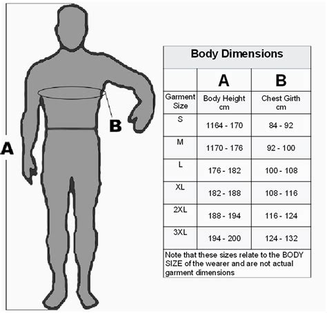 Design By Humans Size Guide   garment sizes design and construction resources