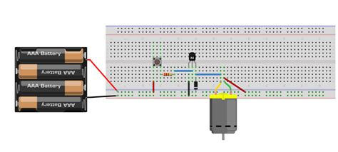 transistor as driver build an object detection dc motor controller lekule