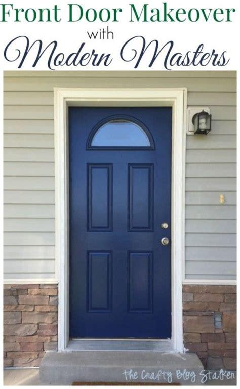 entry pop   front door makeover