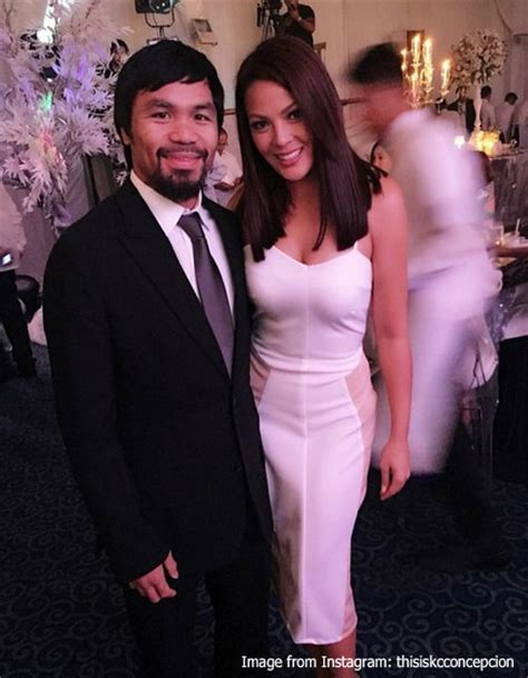 paul soriano and kc concepcion fan girl moment kc concepcion meets manny pacquiao