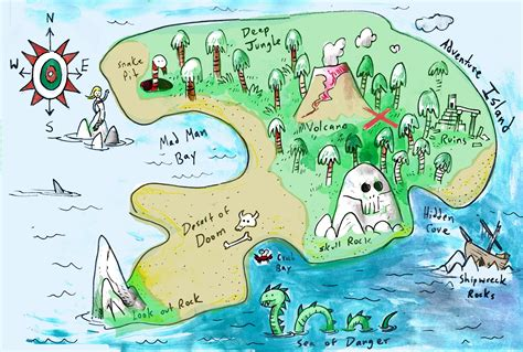 island map uncategorized sketcharound