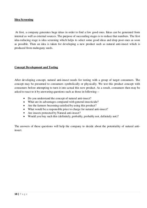 New Product Development Essay by New Product Development Assignment