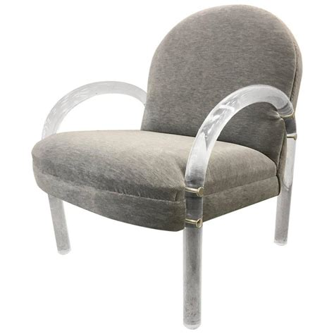 Lucite Armchair by Pace Collection Lucite Armchair For Sale At 1stdibs