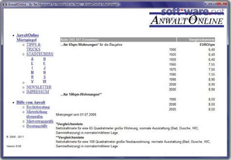 wohnungsausstattung liste mietspiegel 2013 windows bei soft