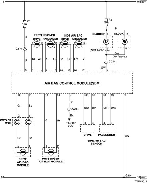 airbag wiring diagram efcaviation